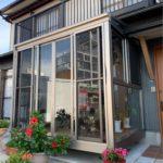 愛知県豊明市の戸建住宅にて、以前工事させていただきましたサンルームのご紹介です!