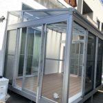 愛知県名古屋市の戸建住宅にて、サンルーム(LIXILサニージュ)設置工事を行いました!