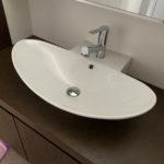 愛知県名古屋市にて、トイレの洗面ボウルを取付致しました。(サンワカンパニー「ゼフェロ50R」)