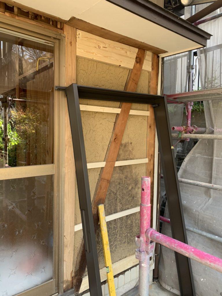 愛知県豊明市の戸建住宅にて、雨戸取替工事(リクシル)を行いました。