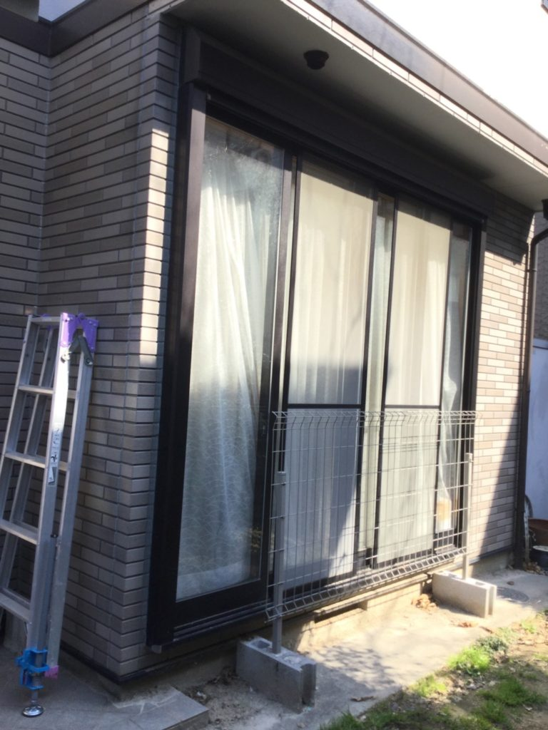 愛知県名古屋市天白区の戸建住宅にて、エクステリア工事を行いました。(リクシル サニージュ)