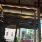 愛知県大府市の店舗にて、自動ドアのエンジン部分交換工事を行いました。【窓香房】