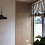 愛知県豊明市にて、壁パネル タカラスタンダード エマウォール取付工事を行いました。【窓香房】
