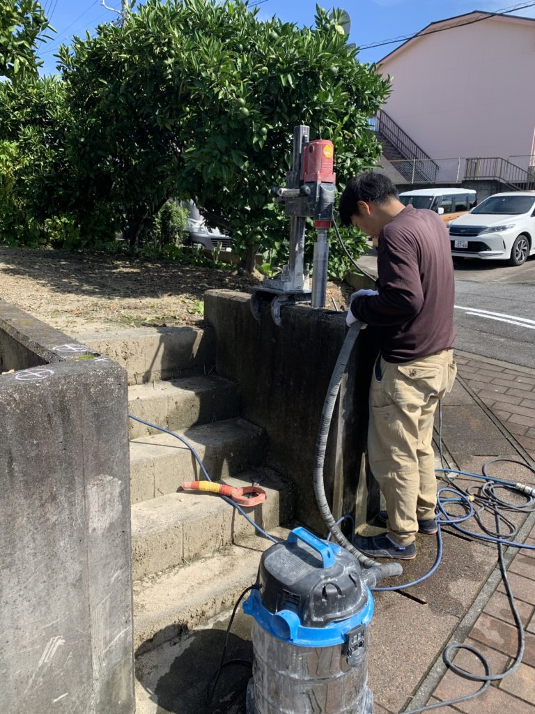 愛知県大府市にて、怪我防止のためフェンス設置工事を致しました。【窓香房】