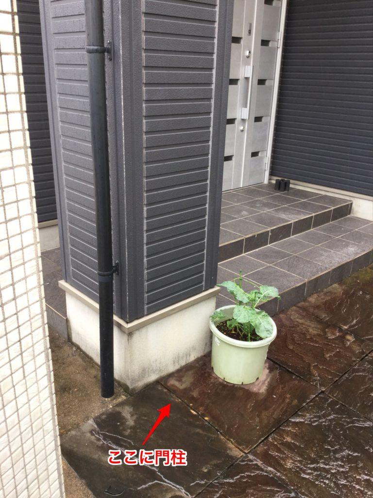 愛知県知立市の戸建住宅にて、エクステリア工事 LIXILスマート宅配ポスト設置工事を行いました。【窓香房】