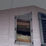 愛知県大府市の戸建住宅にて、妻換気の取替工事を行いました。【窓香房】