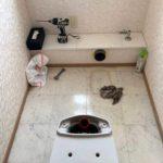 愛知県知多郡東浦町にて、トイレ改修工事を行いました。LIXILアメージュZ便器+シャワー便座【窓香房】