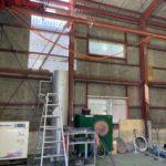 愛知県名古屋市緑区の工場にて、換気窓のガラス取替工事を行いました。【窓香房】