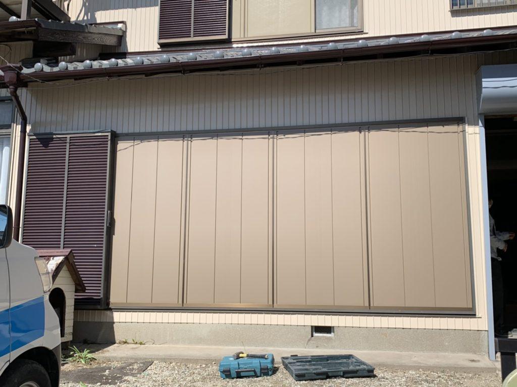 愛知県大府市の戸建住宅にて、雨戸取替工事を行いました。TOSTEM 断熱雨戸 Dan【窓香房】