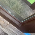 愛知県清須市西枇杷島の整骨院にて、透明ガラス工事を行いました。【窓香房】