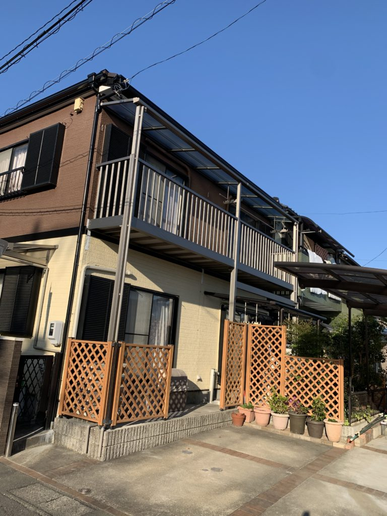 愛知県大府市共栄町にて、エクステリア、バルコニー取替工事を行いました。【窓香房】