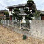 愛知県碧南市の戸建住宅にて、エクステリア工事、フェンス工事を行いました。【窓香房】