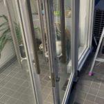 愛知県大府市にて、フロアヒンジ取替工事を行いました。【窓香房】
