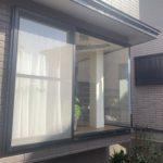 愛知県名古屋市名東区のにて、出窓のガラス取替工事を行いました。(日本板硝子 クリアフィット)【窓香房】
