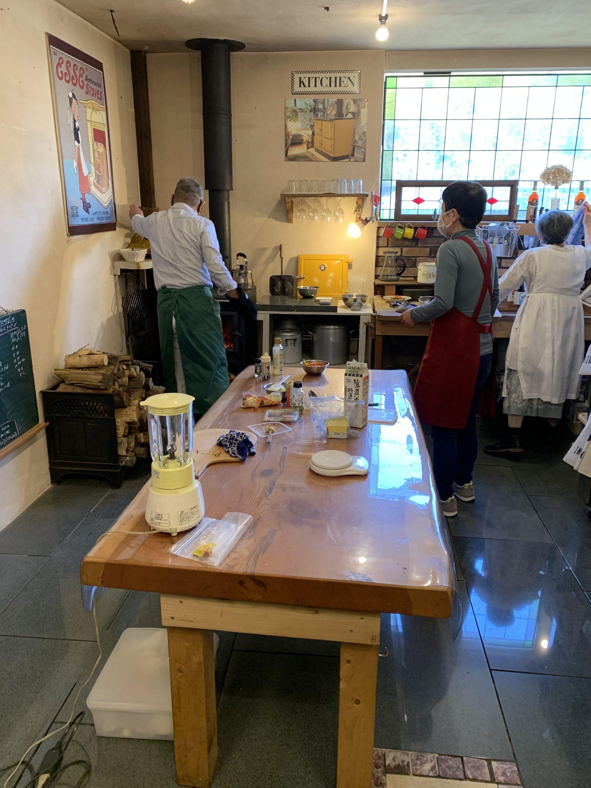 薪ストーブの料理教室に参加してきました!【窓香房】