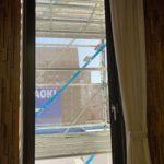 愛知県名古屋市中区のビルにて、換気工事に伴うガラス取り外し工事を行いました。【窓香房】