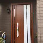 愛知県豊明市の戸建住宅にて、玄関ドア取替工事を行いました。(LIXILリシェント)【窓香房】