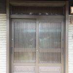 愛知県知多郡東浦町の戸建住宅にて、玄関引戸取替工事を行いました。(LIXILリシェント)【窓香房】