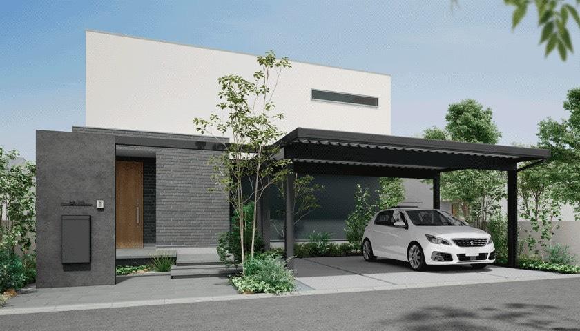 LIXILの折板ガレージ・カーポート STのご紹介をします。【窓香房】