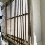 愛知県大府市の戸建住宅にて、出窓の防犯工事を行いました。(LIXIL アルミ縦面格子)【窓香房】