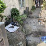 愛知県豊明市にて、エクステリア 手摺工事を行いました。(リクシル グリップライン)【窓香房】