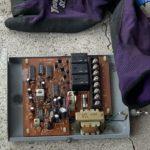 重量電動シャッターの電動リモコン受信機取替工事を行いました。(東洋シャッター 重量電動)【窓香房】
