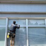 愛知県名古屋市北区の病院にて、遮熱対策工事を行いました。(3M遮熱ガラスフィルム)【窓香房】