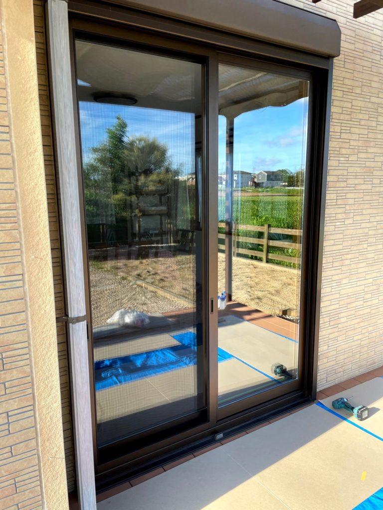 愛知県大府市に戸建住宅にて、サッシ交換工事を行いました。(YKKマドリモ)【窓香房】