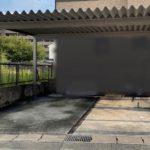 愛知県大府市の戸建住宅にて、折板カーポート設置工事を行いました。【窓香房】